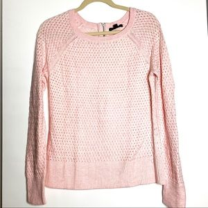 American Eagle Outfitters sz M pink knit sweater